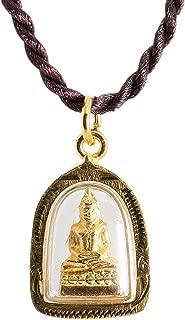 Buddha Golden Thai Amulet Pendant Weekday Birthday
