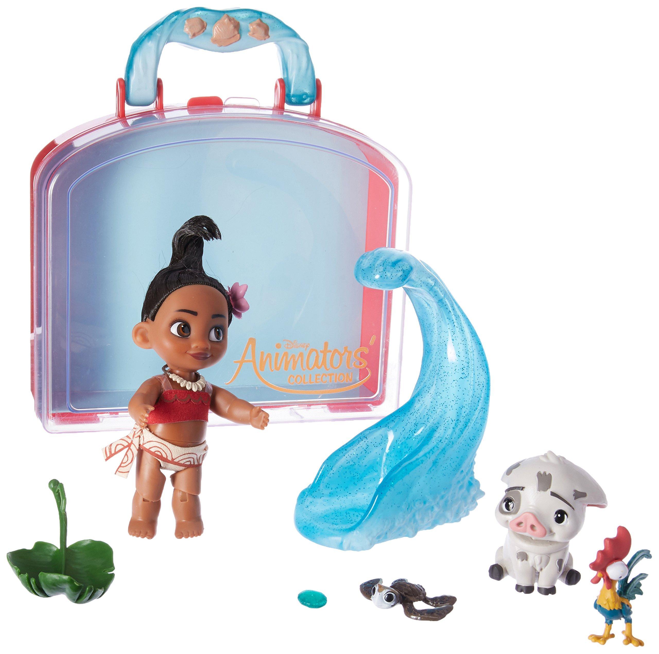 Disney Animators Collection Moana Mini Doll Play Set 5 Inch Amazon Com Au Toys Games
