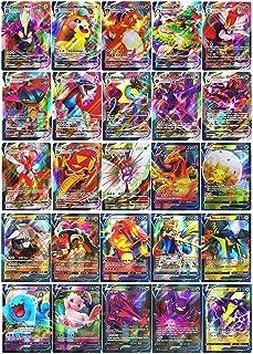 Pokemon Vmax 60 stycken kort (18 Vmax kort + 42 kort V) Flash-kort Pokémon V och Vmax Interactive Battle Card spel för barn