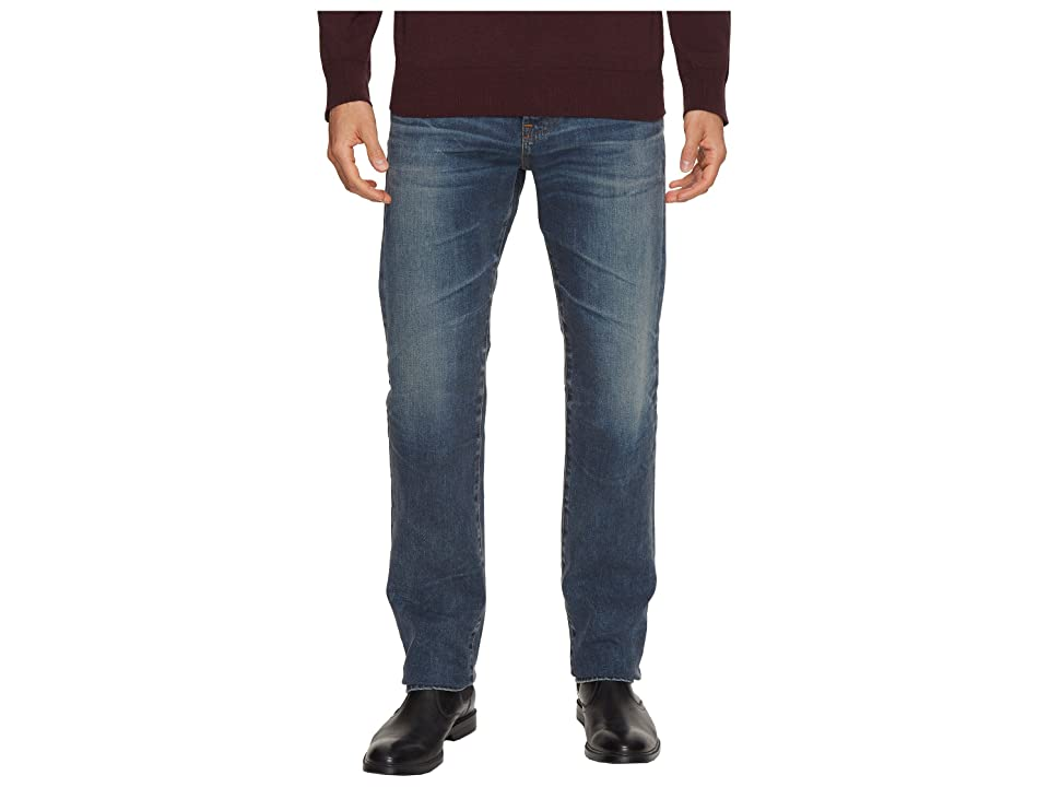 AG Adriano Goldschmied Matchbox Slim Straight Led Denim in 12 Years River Veil (12 Years River Veil) Men's Jeans