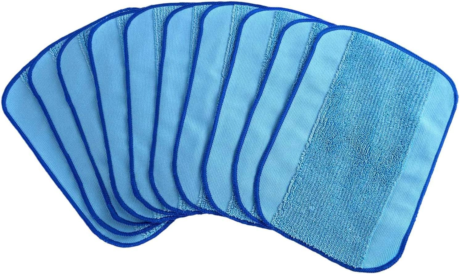 Deesen 10 Pcs Wet It is very popular Dry Microfiber Pa Reusable Mopping Cloths Bombing free shipping Mop