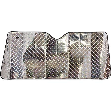 Cartrend 95109 Aluminium Sonnenschutz Mit Farbigen Motiv Druck Schützt Vor Hitze Und Sonnenstrahlen Auto