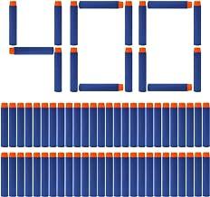 FUCAS Refill Darts 400PCS Bullet for Nerf N-Strike Elite Zombie Strike Rebelle - Blue