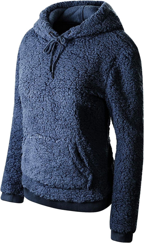 Instar Mode Women's Casual Warm Fluffy Faux Fur Oversized Outerwear Jacket Cardigan