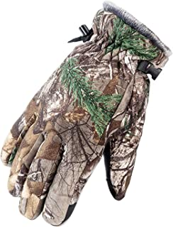 Camo Ski Gloves Waterproof Skiing Snow Snowboarding Thermal Cold Weather Gloves