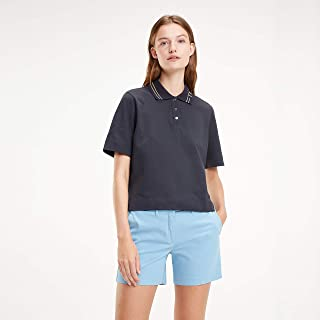 TOMMY HILFIGER Women's Harley Logo Collar Polo