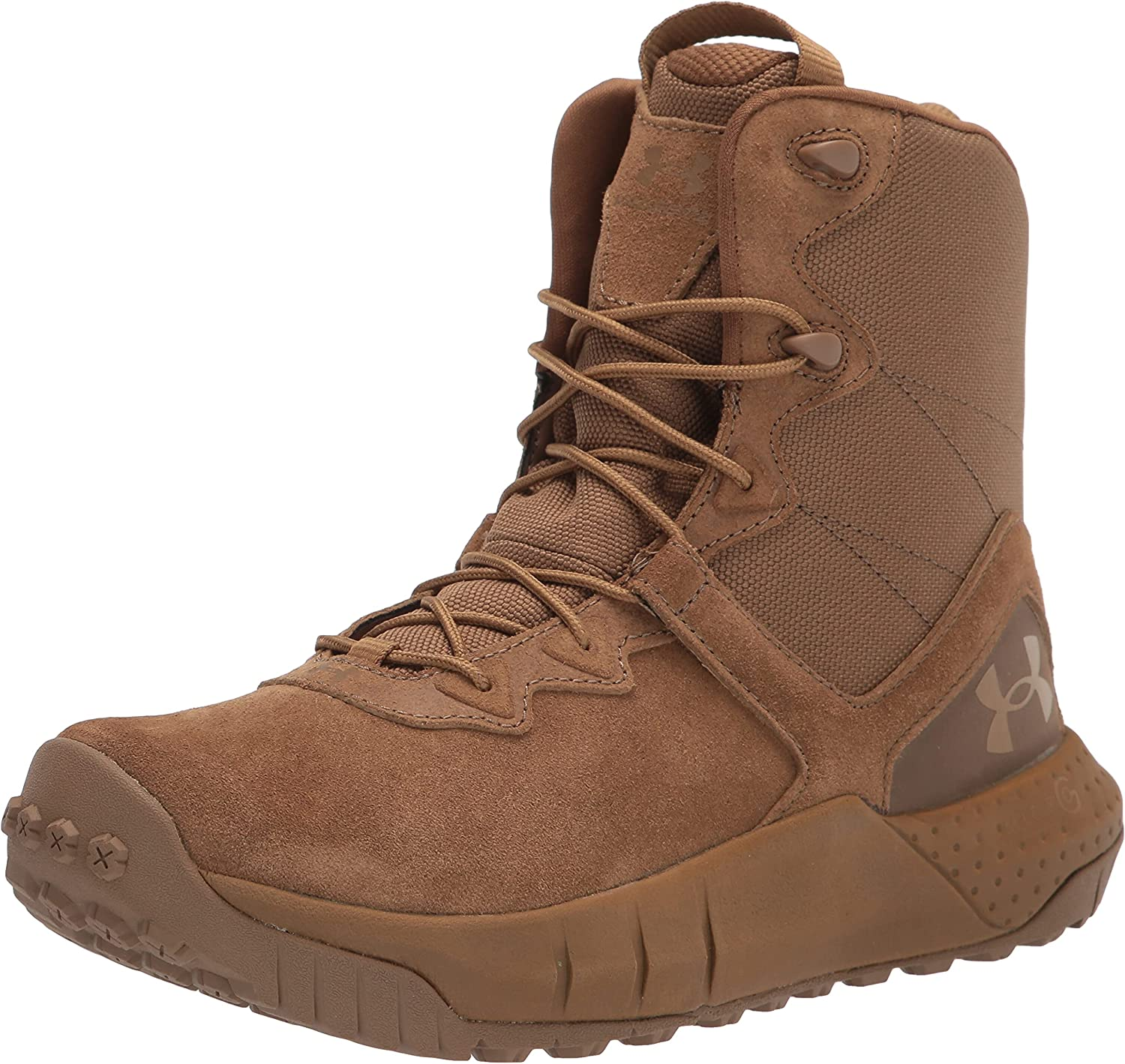 Under Armour Women's Micro G Valsetz Lthr Military and Tactical Boot