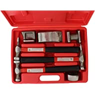 ABN Auto Body Shaping and Forming Repair 7-Piece Kit – Fender Roller Fixer Dent Remover Tool Set...