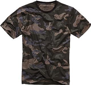 Brandit T-Shirt, Molti (Mimetico Colori, Taglie S Fino 7XL