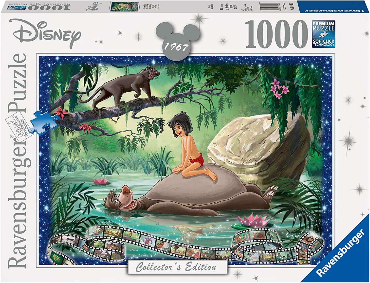 Ravensburger Disney Collector's Edition Weekly update Jungle 1000 Book Piece New life J