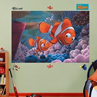 FATHEAD Finding Nemo: Mural-Huge Officially Licensed Disney Removable Graphic Wall Decal