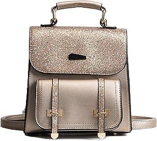 Women Girls Bling Flap Backpacks Shoulder Bags Cross Purses Outdoor Travel Daypacks