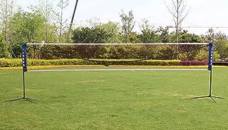 KL KLB Sport Badminton Net Set, Portable Height Adjustable Sports Set with Poles for Tennis, Soccer Tennis, Pickleball, Ki...