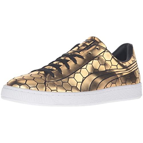 409c9486cb877c PUMA Men s Basket Classic Metallic Fashion Sneaker