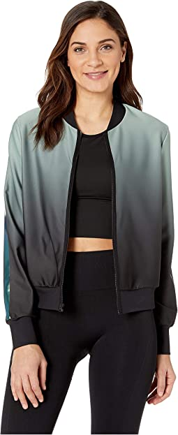 Stealth Gradient Bomber Jacket