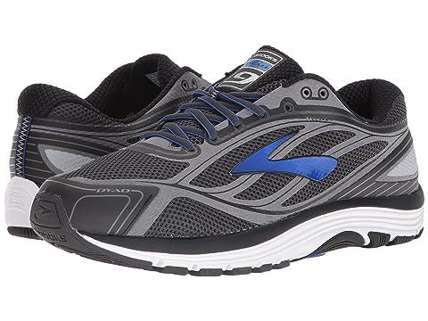 Top Quality Mens Athletic Shoes - Brooks Dyad 9 Asphalt/Electric Brooks Blue/Black