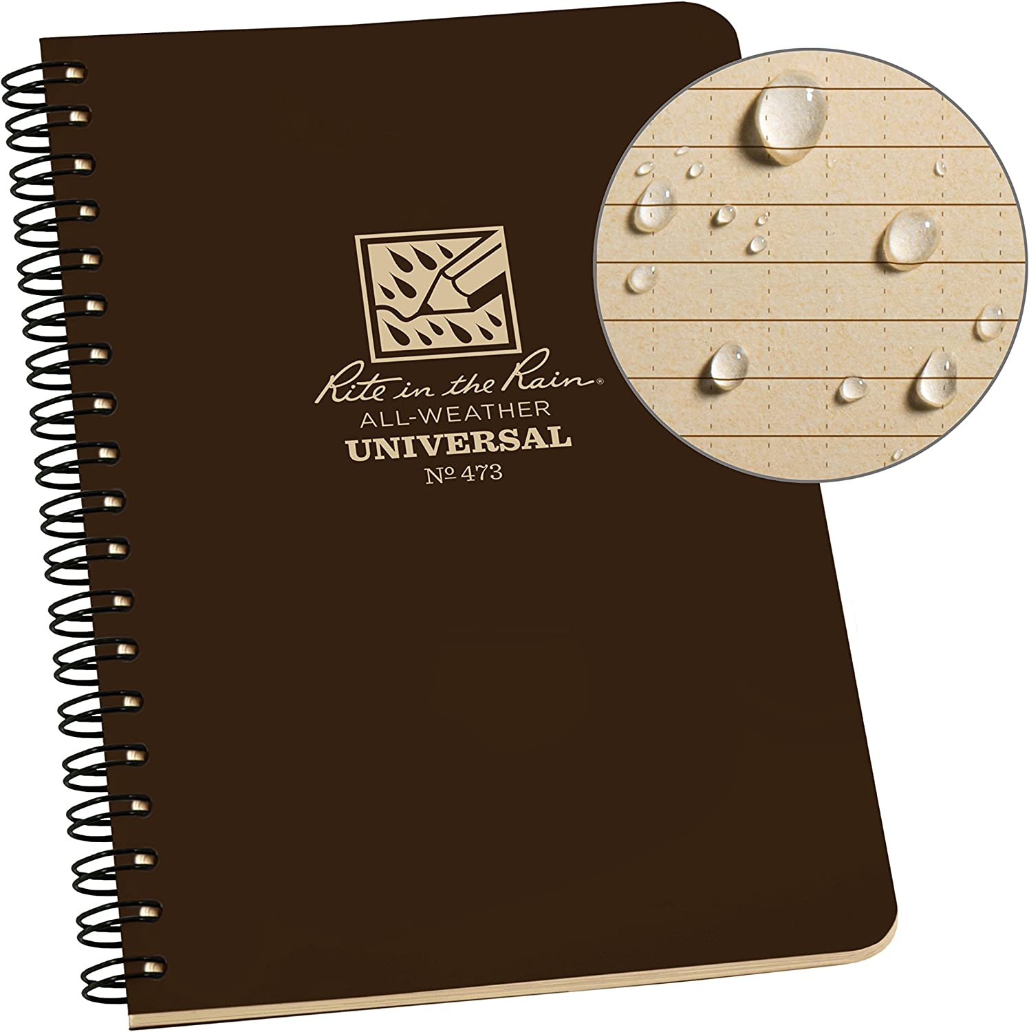 Rite Outlet ☆ Free Shipping in the Rain All Weather Side x 4 Notebook 8