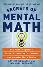 Best secrets of mental math by benjamin and shermer Reviews