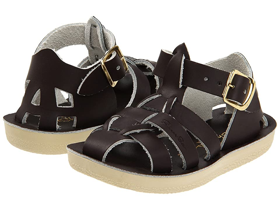 Salt Water Sandal by Hoy Shoes Sun-San Sharks (Toddler/Little Kid) (Brown) Kid