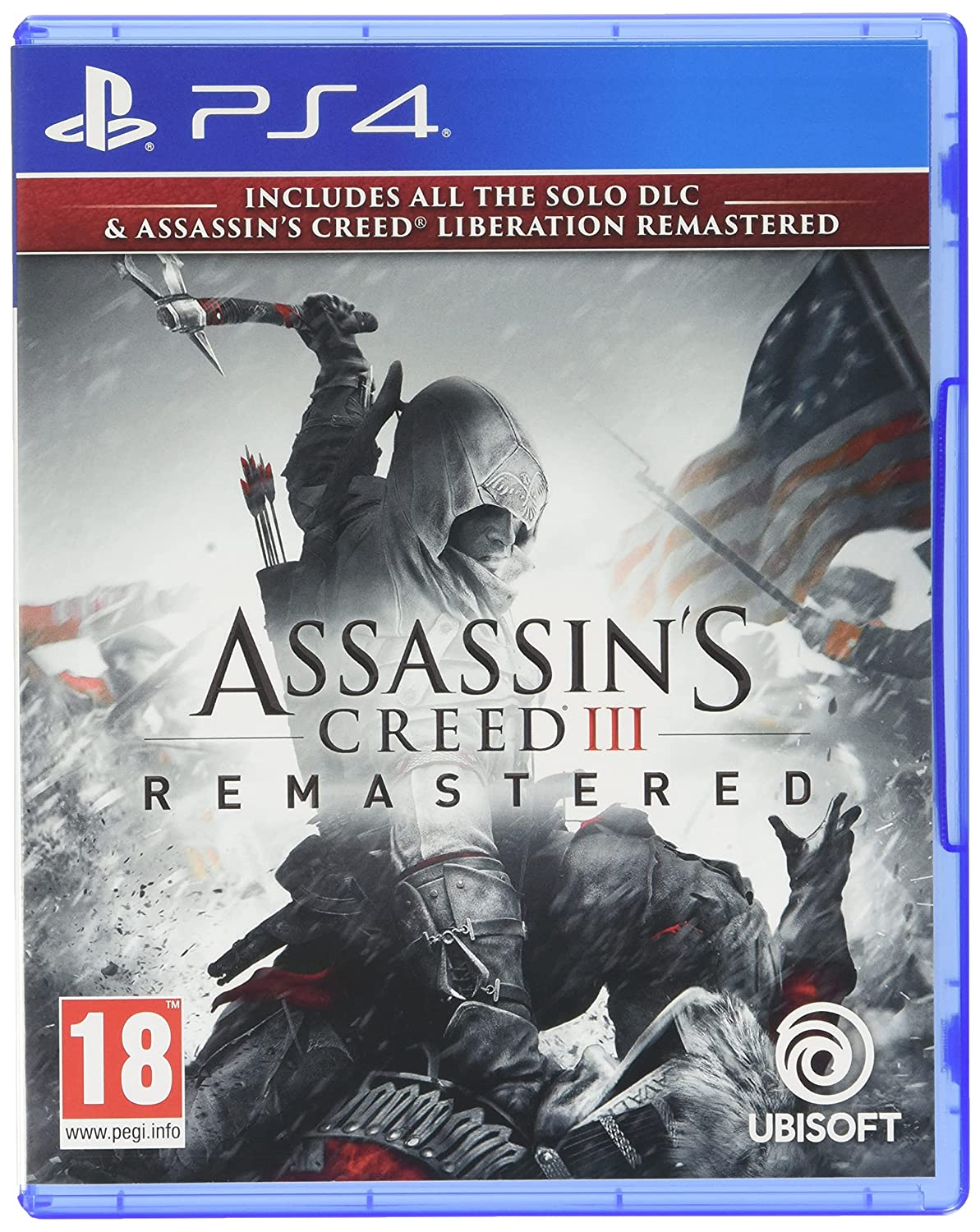 It is very popular Assassin's Creed III Remastered overseas PS4 Liberation