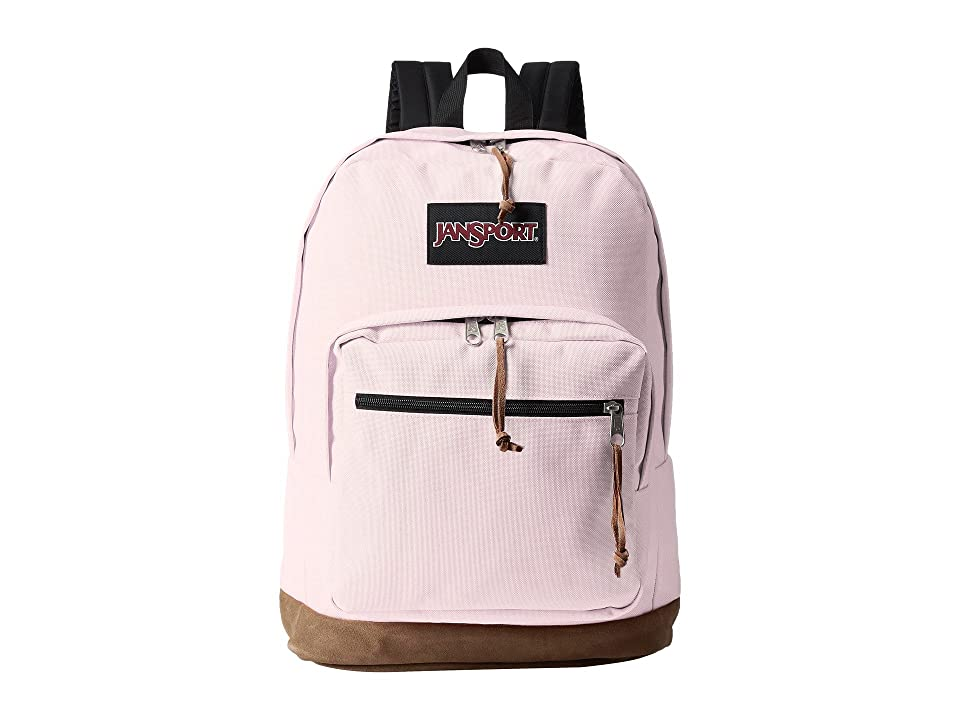 JanSport Right Pack (Pink Blush) Backpack Bags