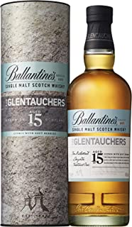 Ballantine's The Glentauchers 15 Years Old Single Malt Scotch Whisky in Gift Box - 700 ml