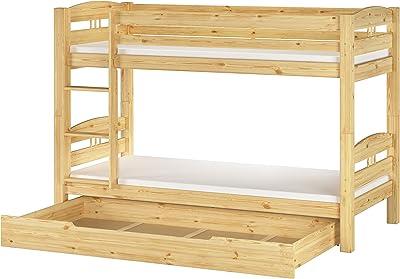 Matratze 90.10-S7 M Erst-Holz Bettkasten als Zusatzbett f/ür unsere Etagenbetten inkl