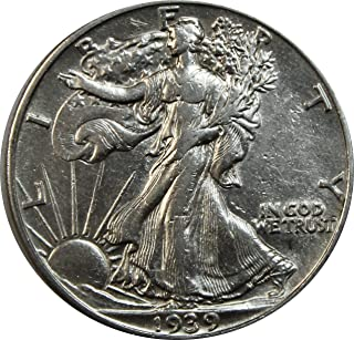 1939 P Walking Liberty Half Dollar 50c About Uncirculated