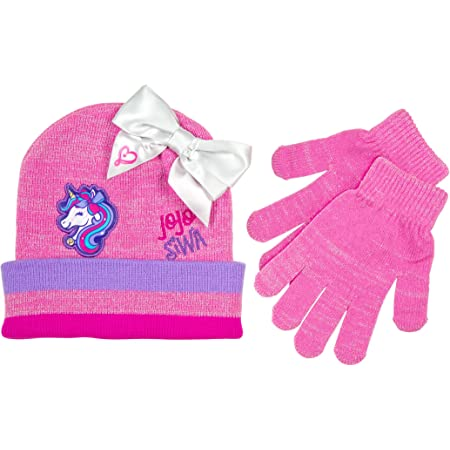 Scarf /& Gloves Set JoJo Girls Winter Beanie