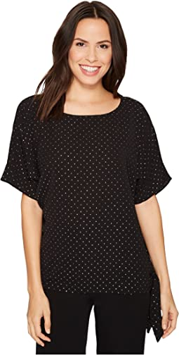 MICHAEL Michael Kors - Starbright Tie Top