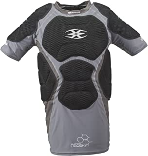 Empire Paintball Neoskin Chest Protector - Black/Grey - Large/XL