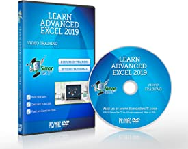 Excel 2019 Training DVD by Simon Sez IT: Excel Tutorial For Advanced users – Excel Course Including Exercise Files and Video