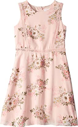 Printed Chiffon Dress (Big Kids)
