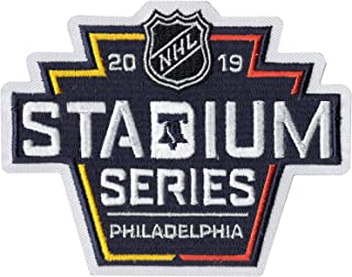 2019 Official NHL Stadium Series Game Jersey Patch Philadelphia Flyers Pittsburgh Penguins