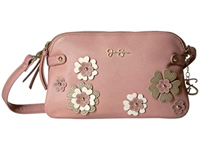 Jessica Simpson Rosalie Crossbody (Moss Rose) Cross Body Handbags
