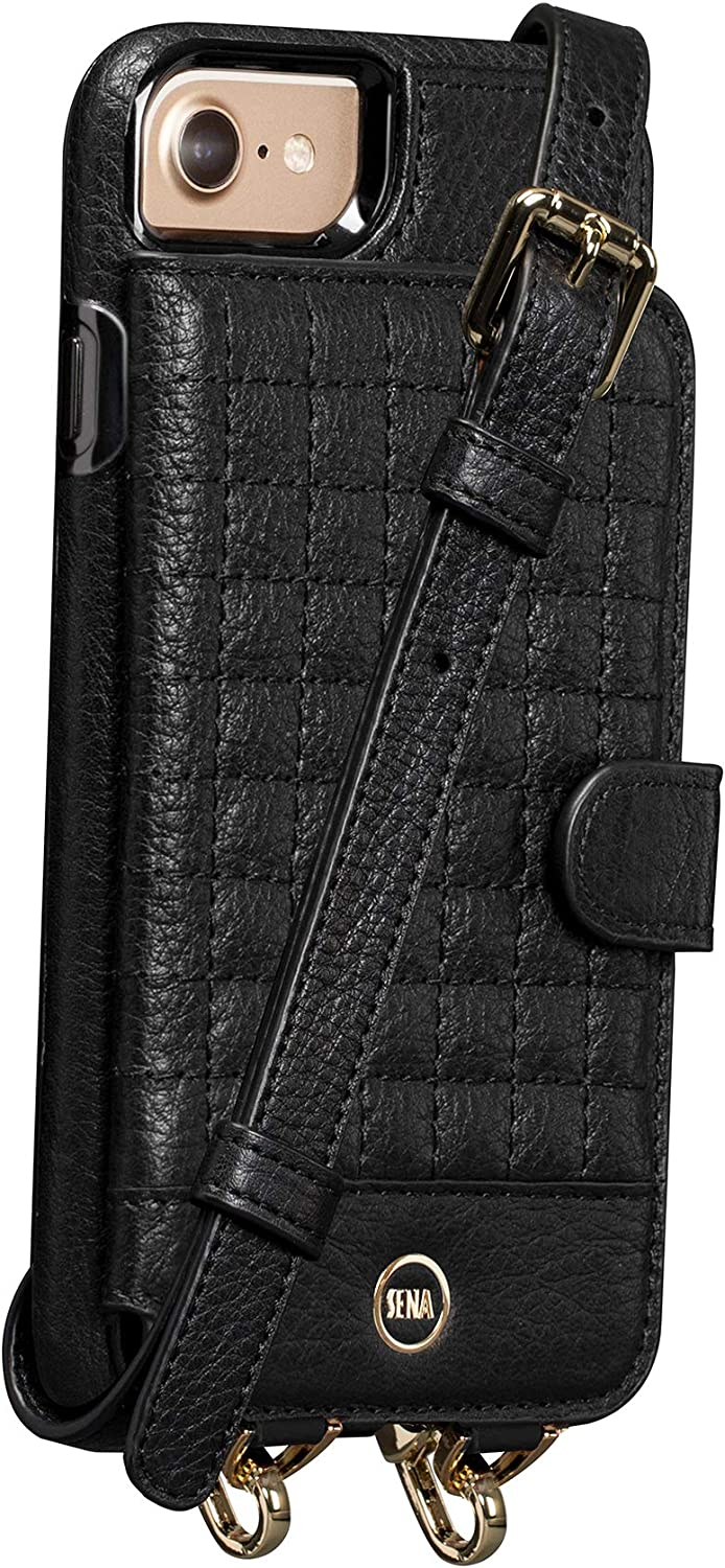 Isa Crossbody Snap On Leather Limited time trial price for Case iPhone Phone Cell Fees free!!