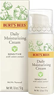 Burt's Bees Daily Face Moisturizing Cream, Sensitive, 1.8 Oz