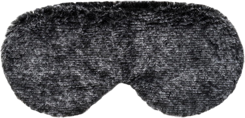 Therawell 4 years warranty Faux Fur Aromatherapy Relaxing Mask Black Eye Popular popular
