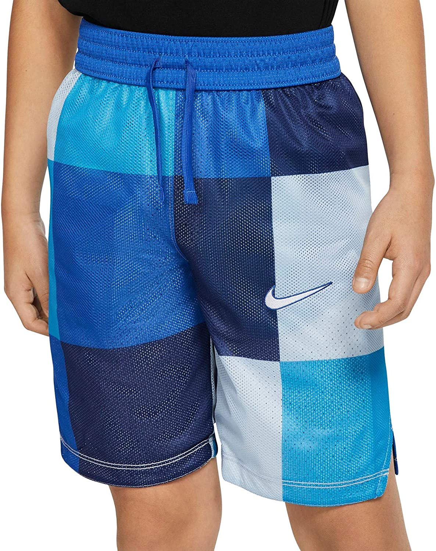 Nike Boys Reversible Mesh Elite Basketball Shorts XL