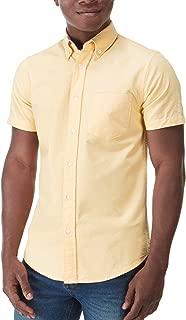 Charles Wilson Men's Short Sleeve Oxford Casual Shirt