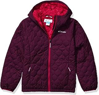 Girl's Bella Plush Winter Jacket, Water repellent, Fleece Lined