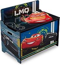 Delta Children Deluxe Toy Box, Disney/Pixar Cars, Character