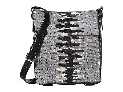AllSaints Adelina Small North/South Tote (Grey Multi) Handbags