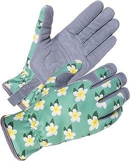 دستکش باغبانی زنان SKYDEER با چرم جیر Deerskin برای کار در حیاط ، هرس گل رز و کار روزانه