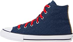 Chuck Taylor® All Star® Denim - Hi (Little Kid/Big Kid)