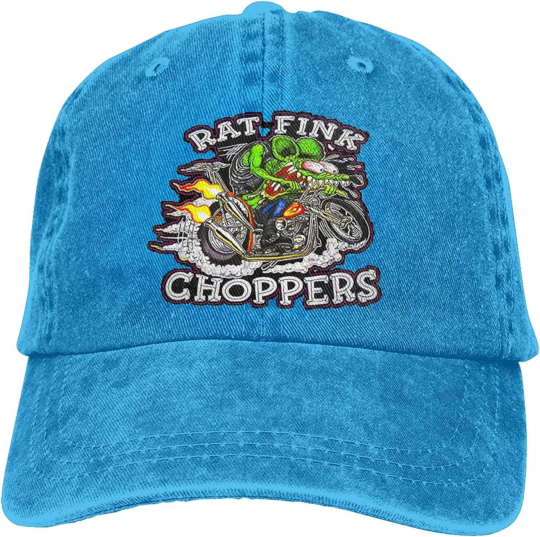 Fangpeilian Ratfink Adjustable Hat Fashion Cowboy Hat Baseball Cap, Suitable for Sports, Outdoor, Daily