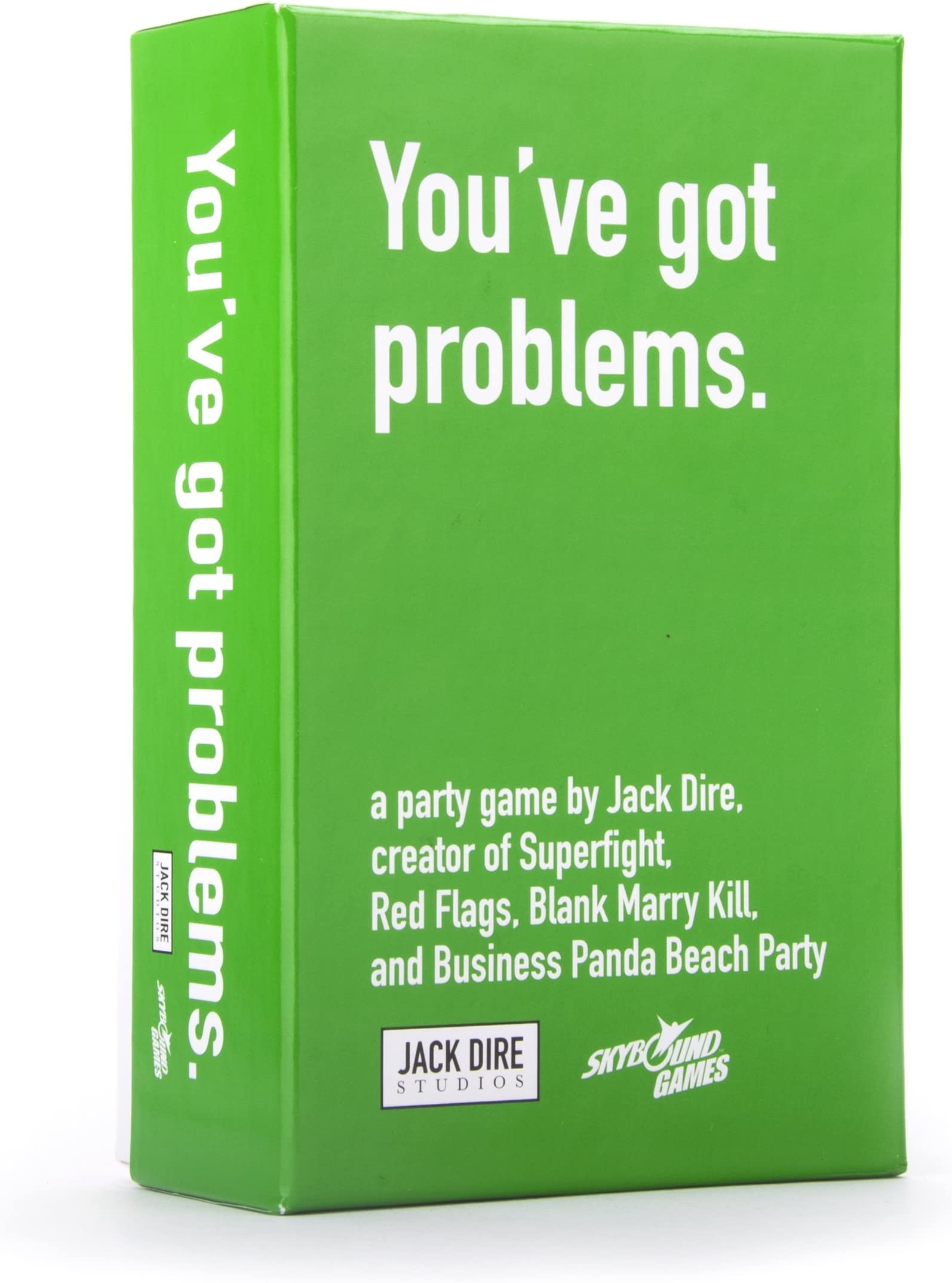 You've Got Problems Card Game | A Party Game of Making Horrible Choices | A Pick Your Poison Themed Party Game | by Jack Dire, Creator of Superfight