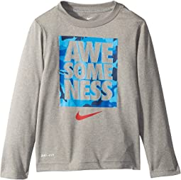 Awesomeness Camo Dri-FIT™ Long Sleeve Top (Toddler)
