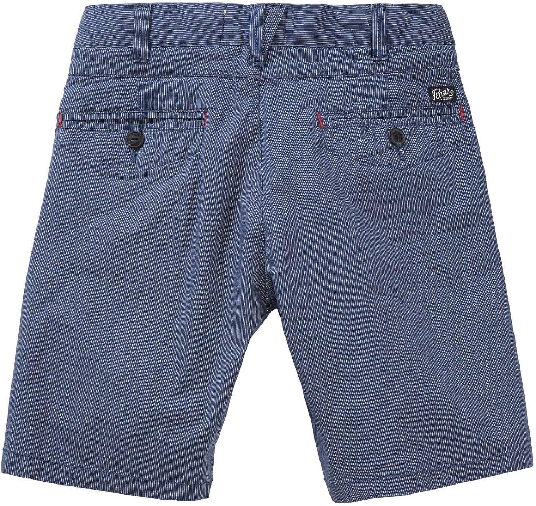 Petrol Industries Gestreifte Chino-Shorts