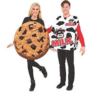 Adult's Milk and Cookie Double Costume Set
